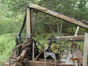 Farmi log loader & cart