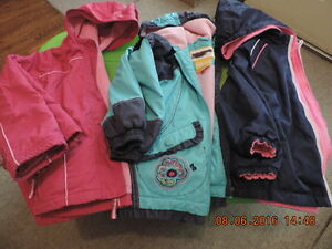 Girl's 5T Fleece Lined Spring/Fall Jackets