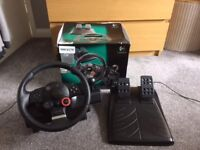 Logitech Driving Force GT Steering Wheel, PC & PS3 (in good condition)