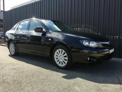 2010 Subaru Impreza MY10 R (AWD) Black 5 Speed Manual Sedan Phillip Woden Valley Preview