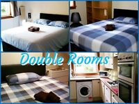 WEEKLY-MONTHLY LET- DOUBLE ROOM IN 4 BEDROOM GARDEN HOUSE- NO MINIMUM STAY FREE- OPTIC FIBER WI-FI
