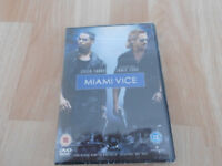 Miami vice film on dvd in original case and still sealed
