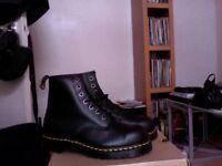 Brand New, Unworn, Size 9, Doctor Martens Industrial Steel Toe Boots- Still in Box
