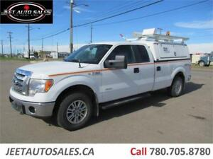 2012 Ford F-150 XLT Extended Cab with 8 FT Service Box