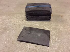 Marley roof tiles, plain grey
