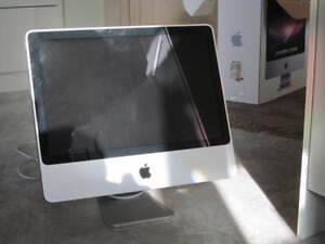 iMac All-in-One, keyboard and mouse