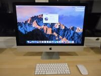 "Apple iMac 5K 27"" Retina Screen with Fusion Drive and John Lewis Warranty"