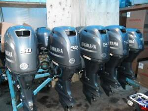 2013 YAMAHA F60- 4 STROKE OUTBOARDS (2 TO CHOOSE FROM)