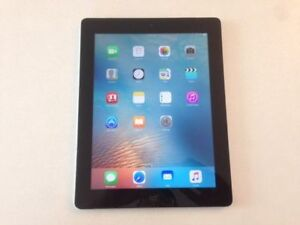 64GB Space Grey iPad 3 - Cellular 4G LTE - GPS - Retina Display