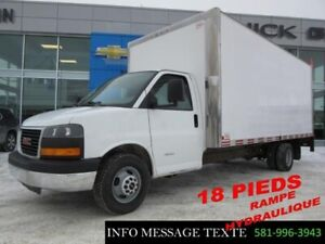 2012 Chevrolet EXPRESS CUTAWAY 18 PIEDS, TAILGATE HYDRAULIQUE