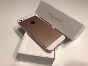 Brand NEW Rose Gold Apple iPhone SE 16 GB in Original Box