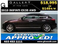 2010 INFINITI EX35 AWD *EVERYONE APPROVED* $0 DOWN $149/BW!
