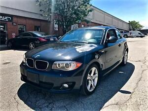 2012 BMW 1 Series 128i, COUPE, TWO SETS OF RIMS, NO ACCIDNET