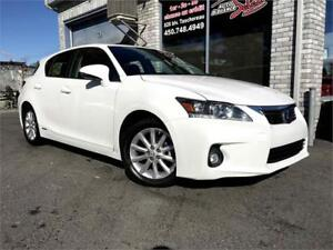 2012 Lexus CT 200h CVT Hybrid Cuir Push Start