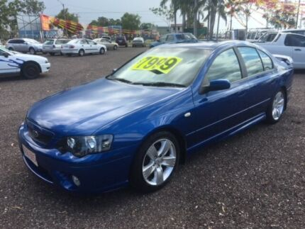 2007 Ford Falcon BF XR6 Blue 4 Speed Auto Active Select Sedan Durack Palmerston Area Preview