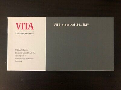 Vita Classical Shade Guide A1-d4 16 Colors B027c