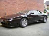 LOTUS ESPRIT SE Super car (0-60 4.5 secs ) Black with cream leather interior, (1990)