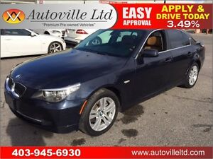 2010 BMW 528i XDRIVE AWD NAVIGATION 90 DAY NO PAYMENTS