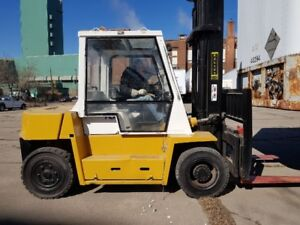 TCM  FORKLIFT - OUTDOOR (WITH HEATER)
