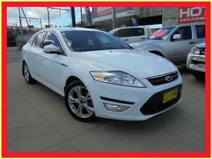 2012 Ford Mondeo MC Zetec Tdci White 6 Speed Auto Dual Clutch Hatchback Holroyd Parramatta Area Preview