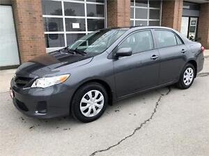 2013 Toyota Corolla ONLY 49000Km FACTORY WARRANTY