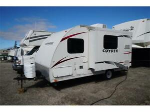 Coyote 163 single axle light weight travel trailer