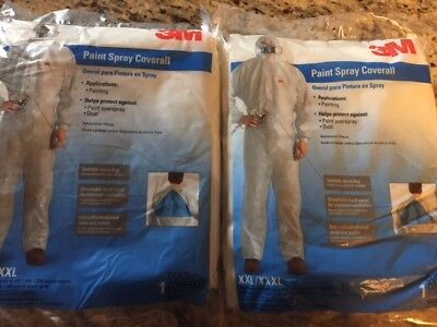 2 Pack Paints (3m paint spray coverall 94540 (2 pack))
