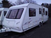 2006 Elddis Avante 636 TWIN AXLE 6 Berth with rear BUNK BEDS.