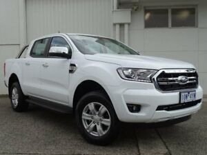 2018 Ford Ranger PX MkIII 2019.00MY XLT Pick-up Double Cab 4x2 Hi-Rider White 6 Speed Bundoora Banyule Area Preview