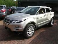 2014 Range Rover Evoque 2.2SD4 4WD Auto Pure TECH SALVAGE DAMAGED REPAIRABLE