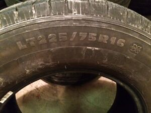 Michelin LTX M/S2 LT225/75R16 tires. London Ontario image 5