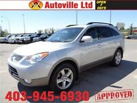 2010 Hyundai Veracruz Limited AWD LEATHER ROOF DVD $16988
