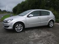 VAUXHALL ASTRA 1.6 SXI 5d 114 BHP (silver) 2009