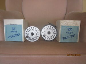 SAlmon Reel Hardy Viscount Reduced Price