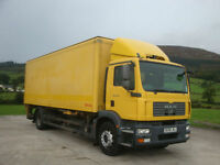 2008 MAN TGM 18.240 4x2 Box Body Demountable