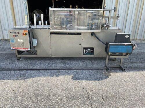 PADLOCKER CF209 Automatic Case Erector with Nordson Hot Melt Glue