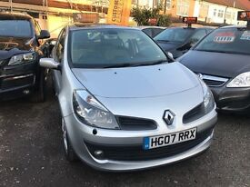 2007 Renault Clio 1.6 VVT Privilege 5dr WARRANTY+PANROOF, AUTOMATOC, SUNROOF, WELL LOOKED AFTER