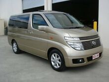 2003 Nissan Elgrand E51 AWD XL Gold 5 Speed Automatic Mini Bus Brompton Charles Sturt Area Preview