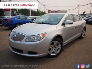 2011 Buick LaCrosse CX * SINGLE OWNER, LOW KM'S, MOONROOF, IMMAC