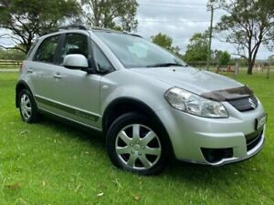 2008 Suzuki SX4 GY Adventure AWD Silver 4 Speed Automatic Hatchback Tuggerah Wyong Area Preview
