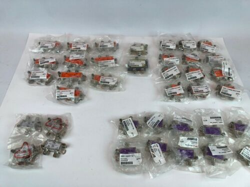 Lot of 38 Dish Network  Hybrid Hubs,Taps and Integrators New/Sealed Packages