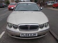 ROVER 75 2.0 CONNOISSEUR DIESEL SE SALOON 04 REG,, FULL LEATHER INTERIOR,, MOT MAY 2019