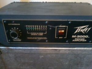 Peavey m-3000 power amp for sale
