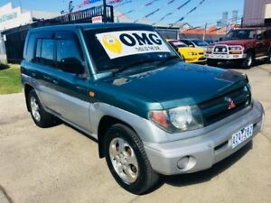 2000 Mitsubishi Pajero QA IO (4x4) 4 Speed Automatic 4x4 Wagon Brooklyn Brimbank Area Preview
