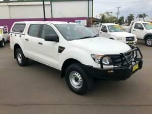 2014 Ford Ranger PX XL 3.2 (4x4) White 6 Speed Manual Dual Cab Utility Dubbo Dubbo Area Preview