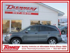 2011 Honda CR-V EX-L 4WD/HEATED LEATHER/SUNROOF/ALLOY WHEELS