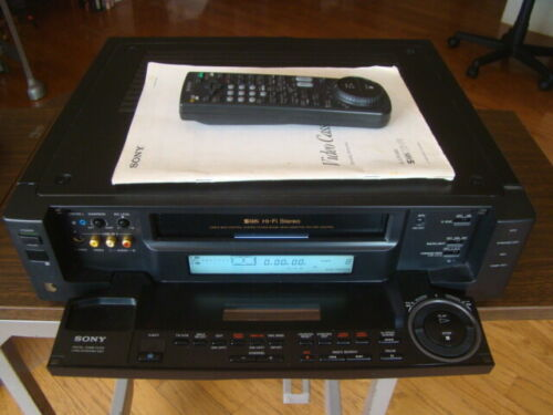 Sony SLV-R1000 Top Model SVHS/VHS  VCR Fully Tested Great Working Condition