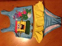 Costume de bain pour fille de Bob L'éponge