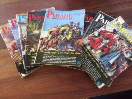 Parade Magazines from the 1950's - 1960's