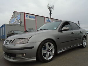 2006 Saab 9-3 AERO 2.8 TURBOCHARGED SPORT-LEATHER-SUNROF-6 SPEED